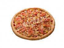Пицца Гавайская 33 см на толстом тесте