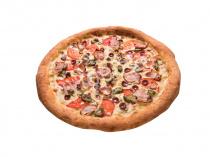 Пицца Остро-пёстрая 33 см на толстом тесте