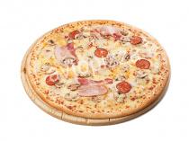 Пицца Лукошко 33 см на тонком тесте
