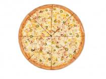 Пицца Кантри 33 см на тонком тесте