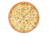 Пицца Канарская 33 см на тонком тесте