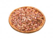 Пицца Кантри 33 см на толстом тесте