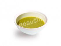 Крем-суп овощной с курицей