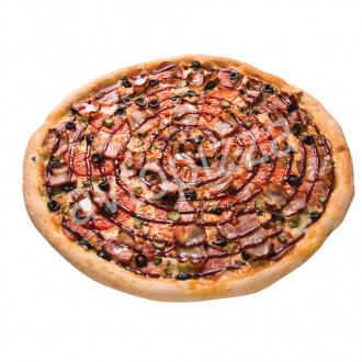 Пицца Барбекю 33 см на толстом тесте