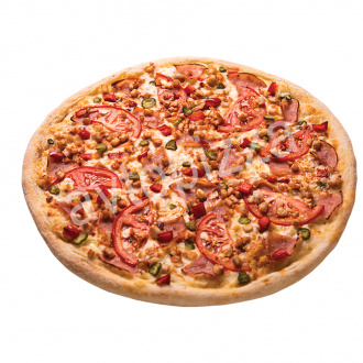 Пицца Винегрет 33 см на толстом тесте