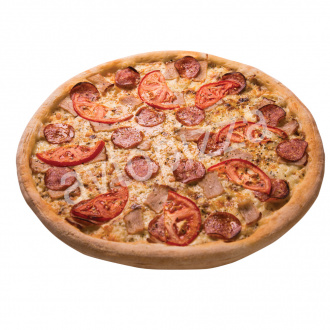Пицца Змей Горыныч 33 см на толстом тесте