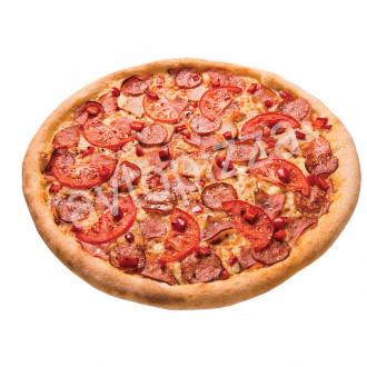 Пицца Мясная 33 см на толстом тесте