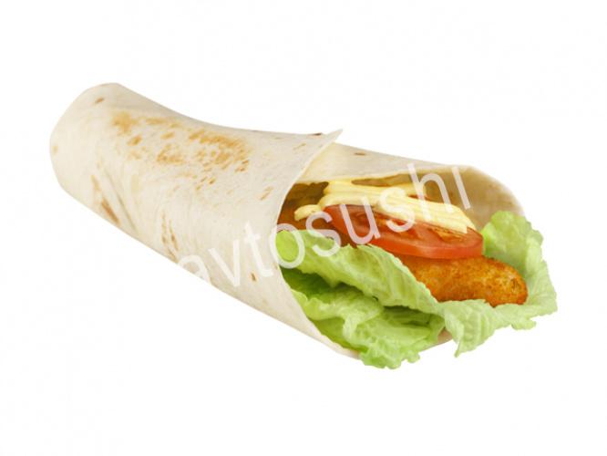 Большой Тортилья-ролл с курицей