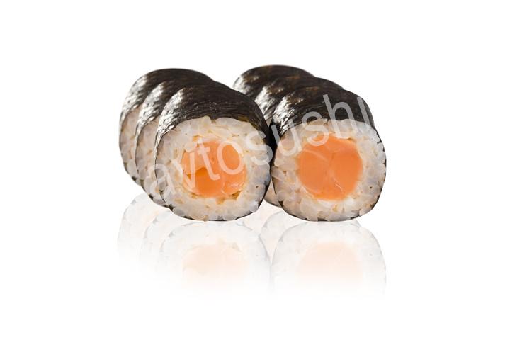 Спайс ролл с лососем