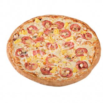 Пицца Канарская 33 см на толстом тесте