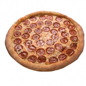 Пицца Дабл Чиз Пепперони 33см на толстом тесте