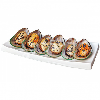 Teriyaki mussels