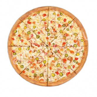 Пицца Винегрет 33 см на тонком тесте