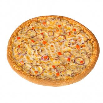 Пицца Мясная королева 21 см на толстом тесте