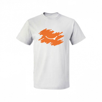 Футболка мужская оранжевая 46р