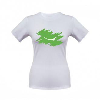 Футболка женская зеленая 42р