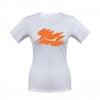 Футболка женская оранжевый 42р