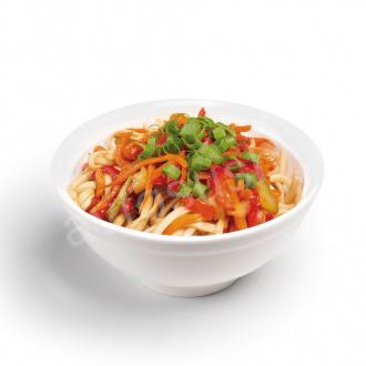 Vegetable buckwheat noodles