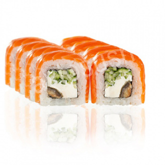 Philadelphia XL roll with eel