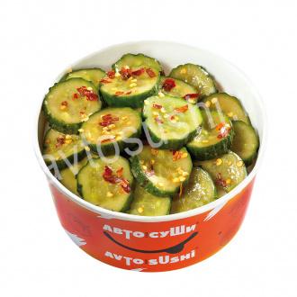 Salat Broken cucumbers