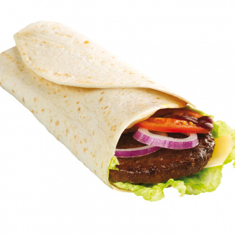 Tortilla roll with beef
