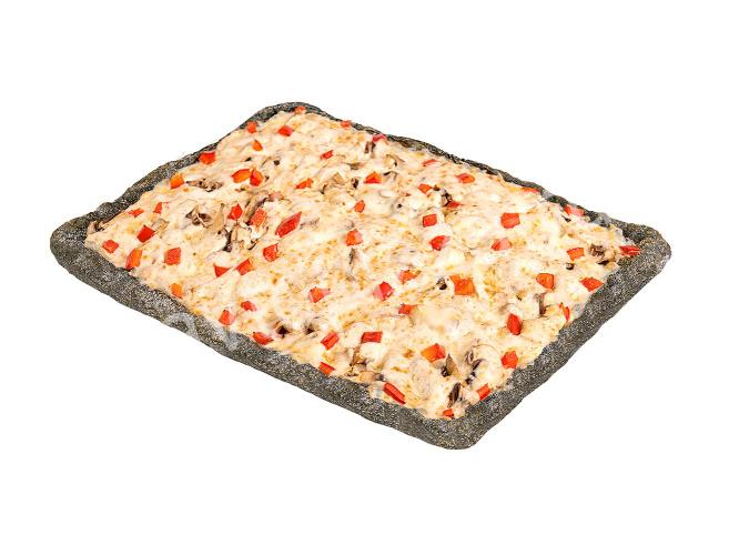 Пицца Римская ветчина с грибами