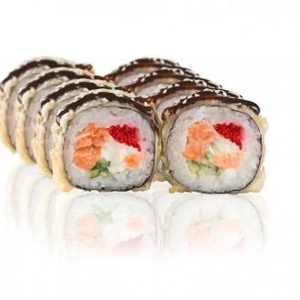Fried sushi rolls