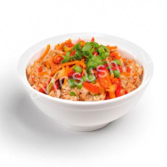 Рис с овощами (постный)