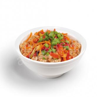 Рис с овощами (острый)