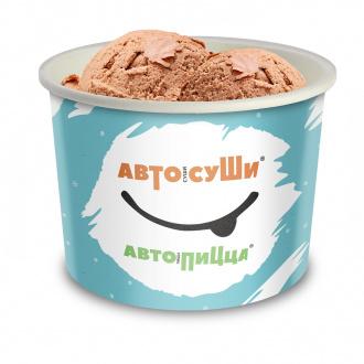 Мороженое шоколадное