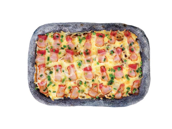 Пицца Чёрная карбонара