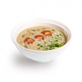Суп Том-кха с грибами