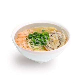 Суп Рамен с лососем Острый