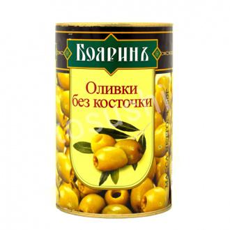 Оливки Бояринъ б/к ж/б 280г