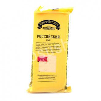 Сыр Российский Брест-Лит 200г