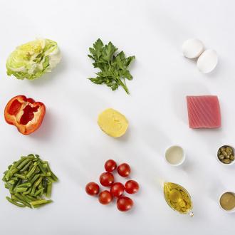 Салат с тунцом а-ля нисуаз