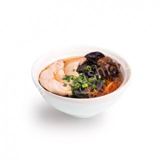 Суп Азиатский с древесными грибами и курицей