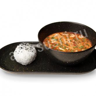 Суп Том-ям с креветками New